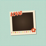 Vector photo frame Royalty Free Stock Image