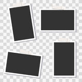 Vector Photo Frame Template Pack Stock Photography