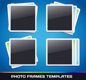 Vector Photo Frames Gallery Royalty Free Stock Photo