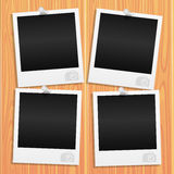 Vector. Photo frames. Stock Images