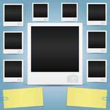 Vector. Photo frames. Royalty Free Stock Photo
