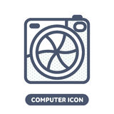 Vector photo icon in social networks Royalty Free Stock Photos