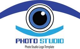 Vector photo studio. Logo of Photo Studio, background, camera, eye.film,logo,photo,studio,art,business,camera,classic,clean,company,concept,design,digital Royalty Free Stock Photo