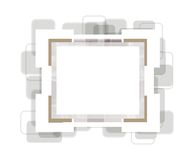 Vector photoframe Royalty Free Stock Image