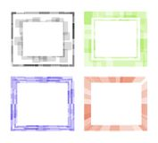 Vector photoframe Stock Images