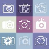Vector photography logos Stock Photos
