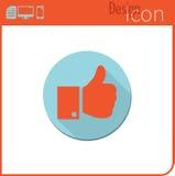 Vector pictogram op witte achtergrond Ontwerpertendens Als, pictogram dat ik heb gehouden van Voor gebruik op de Website of app Stock Foto's