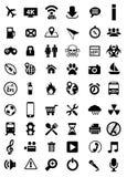 Vector pictogrammen Royalty-vrije Stock Afbeeldingen