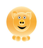 Vector pig Stock Photography