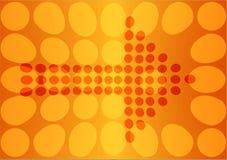 Vector pijl Royalty-vrije Stock Afbeeldingen