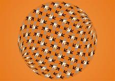 Vector pijlen Stock Foto's