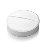 Vector pill Royalty Free Stock Image