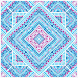 Vector pillow pattern. Vector paisley pattern of pillow or kerchief Stock Photo