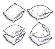Vector pillows vector illustration