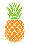 Vector pineapple Royalty Free Stock Images
