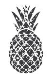 Vector pineapple isolated Royalty Free Stock Photography