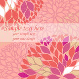 Vector pink background Stock Photos