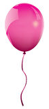 Vector pink balloon Royalty Free Stock Images