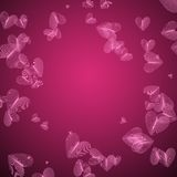 Vector Pink Pattern with Heart Stock Images