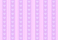Vector pink and purple heart background Royalty Free Stock Image