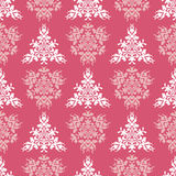 Vector pink royal spring seamless background Stock Image