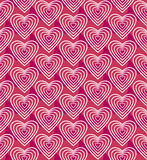 Vector pink seamless pattern. Stock Images
