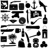 Vector Pirate Pictogram Stock Photography