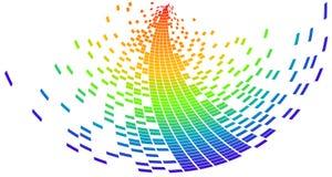 Vector pixel Royalty-vrije Stock Fotografie