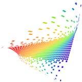 Vector pixel Stock Foto's