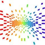 Vector pixel Royalty-vrije Stock Afbeelding
