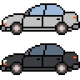 Vector pixel art car Royalty Free Stock Image