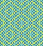 Vector pixel polygons seamless pattern Royalty Free Stock Images