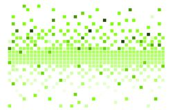 Vector pixels Royalty Free Stock Photography