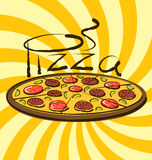 Vector Pizza Royalty Free Stock Photos