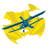 Vector plane Stock Photography