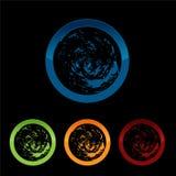Vector Planet logo. Satellite logo. Cosmos logo. Planet best logo. Planet concept logo. Planet web logo. Planet icon. Planet app icon. Science logo. Planet Royalty Free Stock Photo