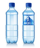 Vector plastic bottle. With water on white Stock Image