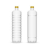 Vector Plastic Sunflower Olive Oil Blank Bottle Royalty Free Stock Image