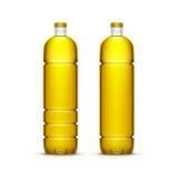 Vector Plastic Sunflower Olive Oil Blank Bottle Royalty Free Stock Photos