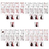 Vector Playing Card. Vector illustration of set of playing card Stock Photo