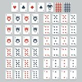 Vector playing cards Stock Photography