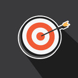 Vector of Point of target Royalty Free Stock Images