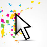 Vector pointer Royalty Free Stock Images