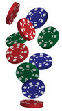 Vector Poker Chips Stock Photos