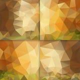 Vector Poligon Background Royalty Free Stock Photos