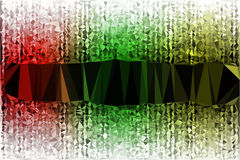 Vector polygon Abstract background Royalty Free Stock Photo