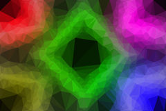 Vector polygon Abstract background Stock Image