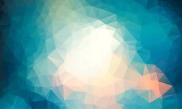 Vector Polygon Abstract modern Polygonal Geometric Triangle Background. light blue Geometric Triangle Background. Low poly background vector illustration vector illustration