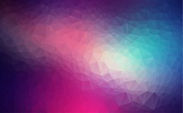 Vector Polygon Abstract modern Polygonal Geometric Triangle Background. light purple Geometric Triangle Background. Low poly background vector illustration Royalty Free Illustration