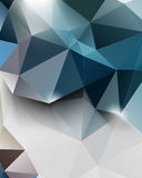 Vector polygon elements abstract background Royalty Free Stock Photography